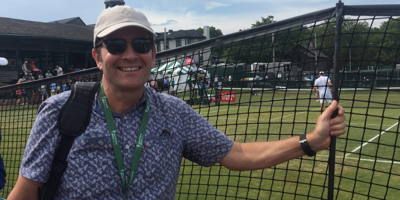 Dr. Jeffrey Zilberfarb Selected for Players' Medical Staff at 2019 Hall of Fame Open Tennis Tournament