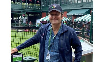 Dr. Zilberfarb Provides Medical Coverage at 2021 Newport ATP Tournament